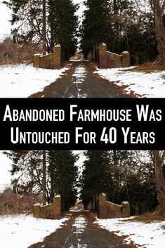 After 40 years people discovered an abandoned farmhouse in Long Island. See what it looks like inside. Old Buildings, Abandoned Buildings, Abandoned Places, Great Places, Beautiful Places, Places To Travel, Places To Visit, Abandoned Mansions, Old Houses