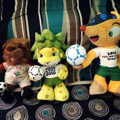 FIFA World Cup Mascot 🏆⚽️#Fuleco 2014 #Zakumi 2010 #Goleo2006