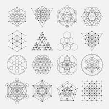 Sacred geometry vector design elements. Alchemy, religion, philosophy, spirituality, hipster symbols and elements. | Stock Images Page | Everypixel Photo Search Engine, Stock Photo Websites, Venus Symbol, Sacred Geometry, Alchemy, Vector Design, Design Elements, Philosophy, Religion