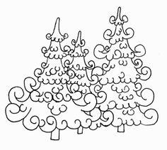 Magnolia Tilda Digi Pinterest | ... mit herzen patchwork herzen i love you tannenbaeume digi stamp