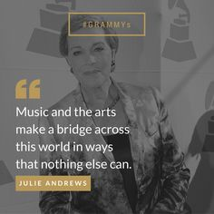 Julie Andrews on the universal language of music.