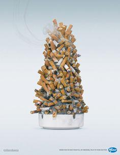 Stop smoking at Christmas!