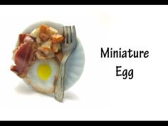 how to: miniature egg, bacon, and fried potatoes (three part tutorial)