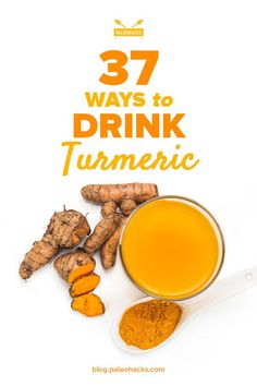 Turmeric is known for it�s powerful health benefits. It has been used for it�s healing properties for centuries. Learn how to detox your liver, reduce inflammation and improve your immune system with these 37 delicious turmeric drink recipes! Get the recipes here: http://paleo.co/turmdrink