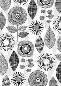 Vintage Blumen limitierte Auflage Giclee print von EloiseRenouf