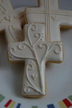 47 ideas cookies decoradas bautismo for 2019 Super Cookies, Fancy Cookies, Iced Cookies, Easter Cookies, Cookies Et Biscuits, Cupcake Cookies, Meringue Cookies, Religious Cakes, Easter Religious