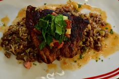 Pan Seared Red Snapper, Dirty Rice and Vegetables | Flip My Food