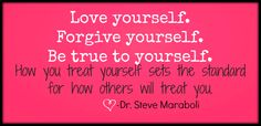 Be true to yourself #quote