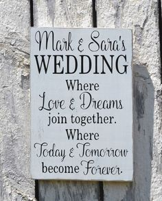 Rustic Wedding Sign Welcome Personalized Signs For Weddings Love Quote Sayings Ceremony Directional Bride Groom Names Mr Mrs Reclaimed Wood - The Sign Shoppe