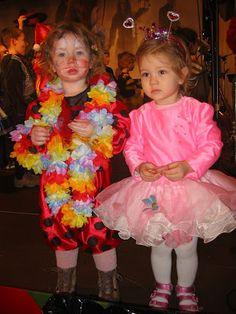 Kleinkindkostüme Clown aus Marienkäferoverall und Ballerina