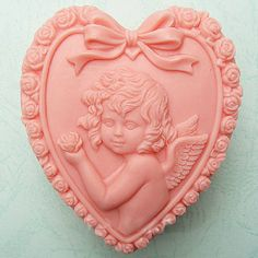 Lovely Angel Soap Mould Silicone Mold Handmade Soap Molds Soap Mould