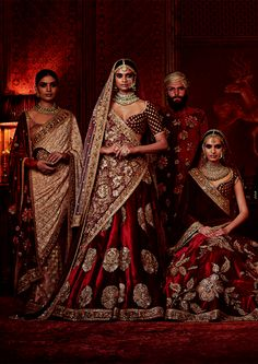 """Sabyasachi's Firdaus Collection 2016: Firdaus is the highest garden in paradise, and in Sabyasachi rendition, most of the ingredients in the…"