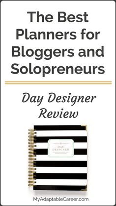 Find out what type of blogger would most benefit from this planner, plus read reviews of other planners for busy bloggers! Don't have time? Pin now and read later.