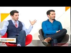 """First Look Asia - In Studio, """"The Property Brothers"""" Feb Scott Brothers, Property Brothers, Asia, Handsome, Studio, Tips, Youtube, Ideas, Study"""