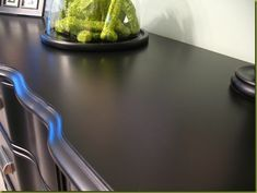 """How to paint furniture black to get that high-end """"Pottery Barn-esque"""" look, I saw this product on TV and have already lost 24 pounds! http://weightpage222.com"""