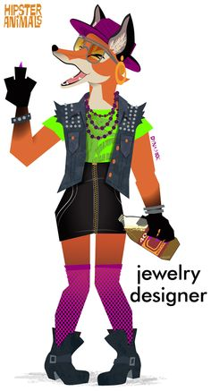 jewelry designer Preorder Hipster Animals: A Field Guide Amazon   Barnes & Noble   IndieBound   Google Books   iBooks