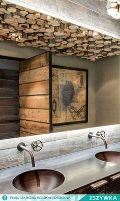 wood bathroom (drewniana łazienka)