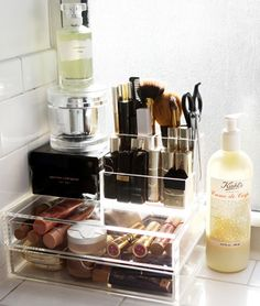 Vanity organizing tips