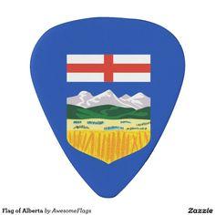 Flag of Alberta Plectrum