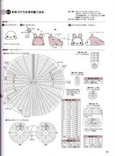 Amigurumi San-X051-1