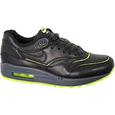 13a1a7dbbc8f Nike Womens Wmns Air Max 1 Cut Out PRM BLACKBLACKVOLTDARK GREY 65 US      You can get more details by clicking on the image. (This is an affiliate  link)   ...