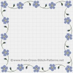 free charts from the Drawn Thread for cross stitch.