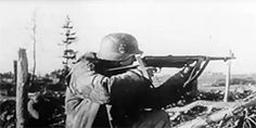 Waffen-SS in close combat under extreme winter conditions on Eastern Front. They were sent into the most difficult combat situation to face death and win.
