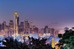 Seattle, WA - Another city I love. I'd like to live closer one day.
