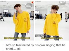 ❤️❤️❤️ << That's Yoongi for you (I love him istg he's adorable)