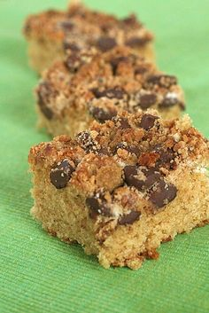 PB choc chip coffee cake by annieseats, -- YUM, I will be making this for MOPS bfast!!