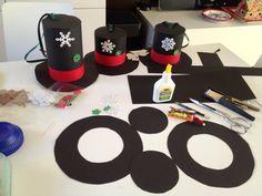 Bazar snowmen hats