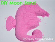 how to make moon sand