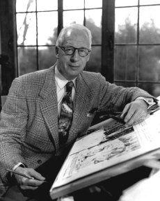 Hal Foster 1892-1982 Cartoonist creator of Prince Valiant 1937 and Tarzan 1928 comic strip's