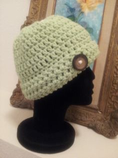 Made with 100% cotton yarn.  This beanie can be hand washed and lay flat to dry. Get the sophisticated look. As always made with love in every stitch!!! ONLY $18