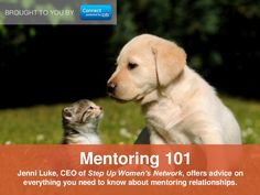 Step Up CEO Jenni Luke's top ideas on mentorship all in one place?! YES, courtesy of LinkedIn Citibank US: http://www.slideshare.net/Women_Connect/mentoring-101-30590677