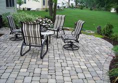 Backyard patio!