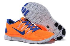 new product f2cc3 b2af6 Buy 2013 New Womens Nike Free Orange Blue Shoes Shoes Shop