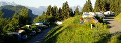 -> camping in summer | ALPENSPORTS LES GETS french alps