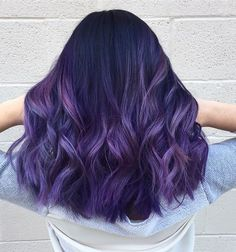 JUNIOR STYLIST @alchemyhairsalon in MD 301.593.8081 ✂️ The Unicorn Tribe BTC ONESHOT AWARD WINNER or 240.330.8379 #BTCGIRL Unicorn Hair Color, Fantasy Hair Color, Green Hair, Long Purple Hair, Purple Ombre, Hair Art, Lila Balayage, Hair Inspo, Hair Inspiration