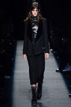 Catwalk photos and all the looks from Alexander Wang Autumn/Winter 2015-16 Ready-To-Wear New York Fashion Week