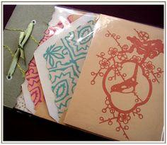 Stationary design by liquidskyarts, via Flickr
