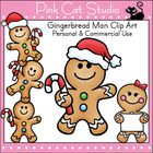 Use these fun gingerbread man designs to add fun and whimsy to your teaching resources.  This product is a .zip file. The individual designs are sa...