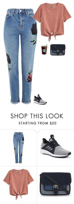 """""""Untitled #2210"""" by tayloremily218 on Polyvore featuring Topshop, adidas, H&M and MICHAEL Michael Kors"""