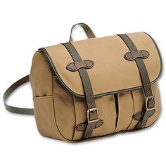www.Filson.com   This Medium Field Bag rides comfortably at your side, or on your hip like a mail pouch
