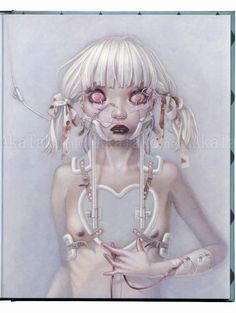 "Pandora Special Edition ""Peroxide"" by Trevor Brown #manga #art"