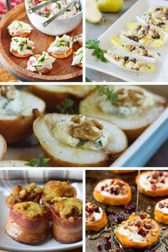 If you need easy appetizers for a party, then check out this big list of simple and fancy appetizers for Christmas and Thanksgiving!  These easy holiday appetizers for a crowd look super elegant, but they're all actually easy to make! #appetizersforchristmasparty
