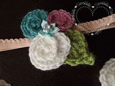 Ravelry: Trio of Roses pattern by SarahSweethearts