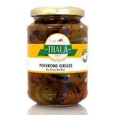Poivrons Grillés au feu de bois 350g Thala®