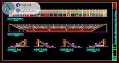 مخطط الملعب مقاطع + واجهة اوتوكاد dwg Autocad, Mixer, Audio, Music Instruments, Musical Instruments, Stand Mixer