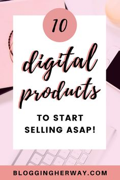 Selling digital products can be a highly profitable way to make money online. Here are the best digital products to sell in Earn Money From Home, Earn Money Online, Make Money Blogging, Online Jobs, Way To Make Money, Blogging Ideas, Etsy Business, Craft Business, Business Tips